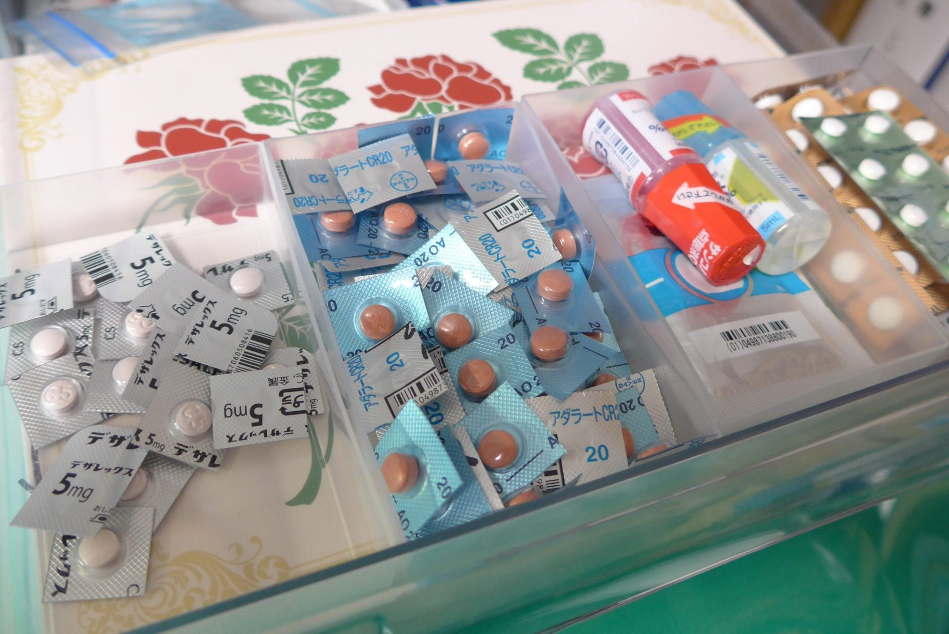 薬や衛生用品など健康に関わる備蓄品を考えました!リスク対応
